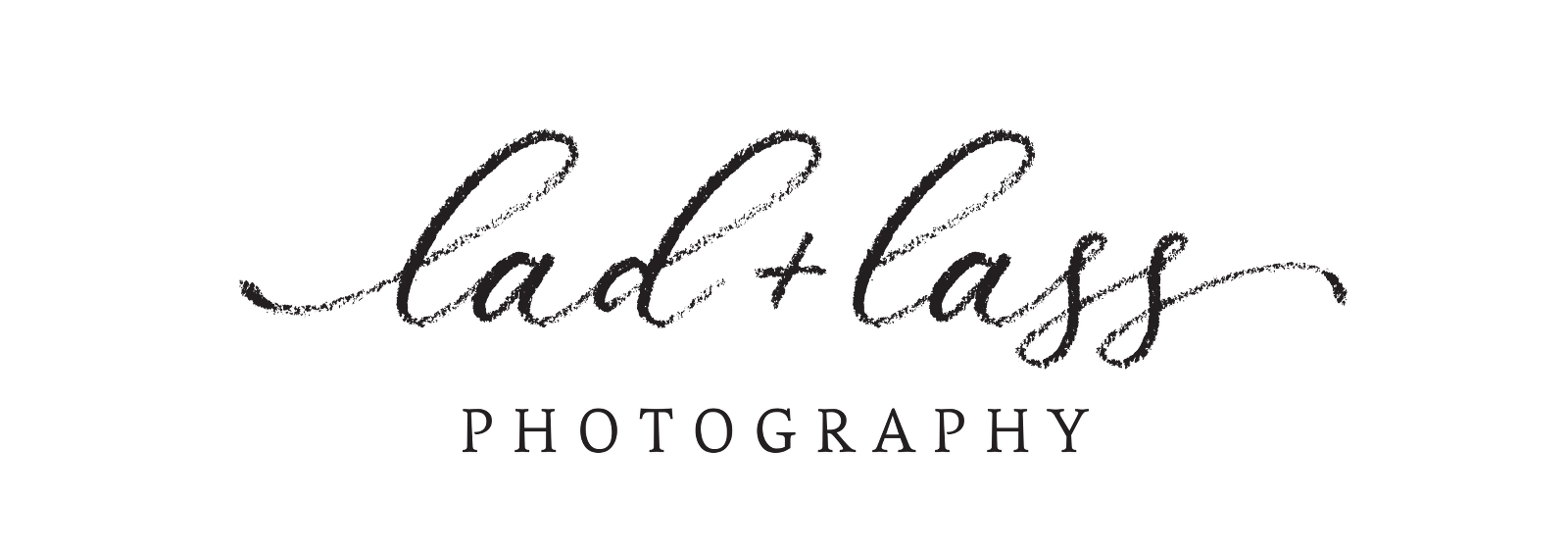 lad and lass photography logo